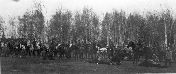 11. Эскадрон  кавалерии Красной Армии в
