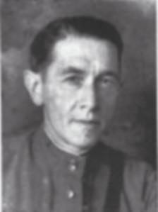 Художник Василий Селиванов в 1942 году.j