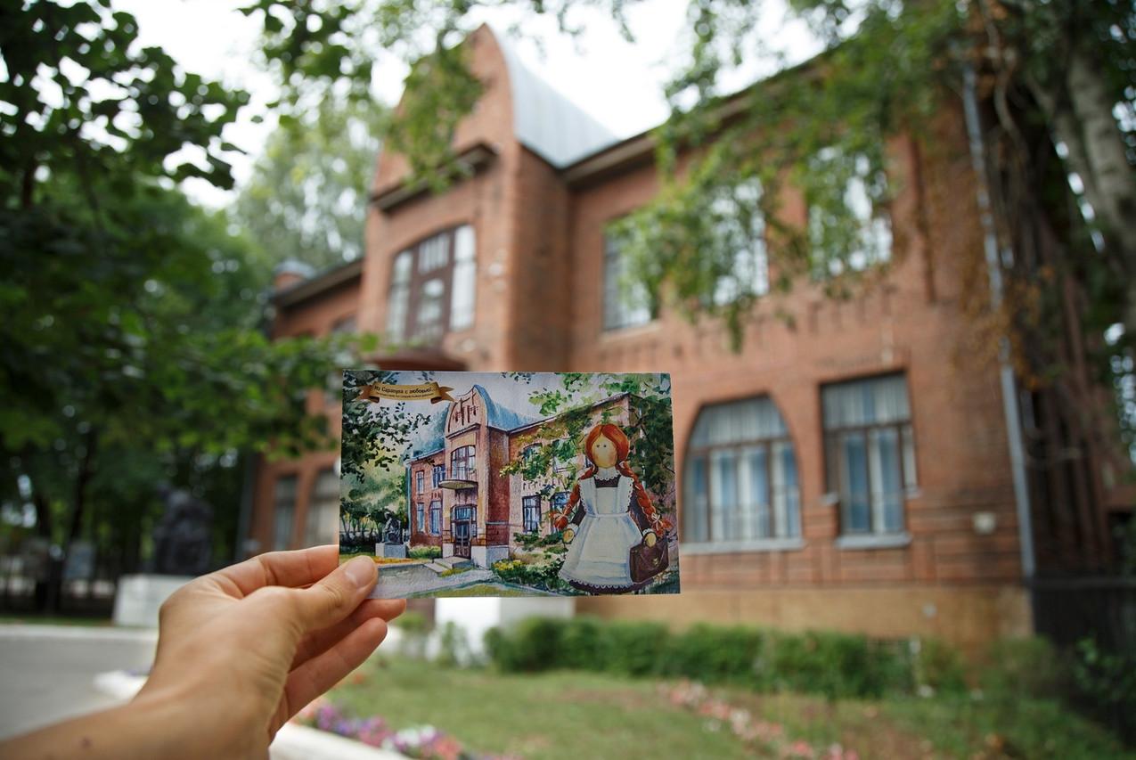 Сотрудники музея в Сарапуле 08