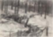 5. Пехота в окопе. 1916 год. Художник Ив