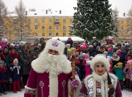 24 декабря, глазовчане погуляли на Никольской ярмарке