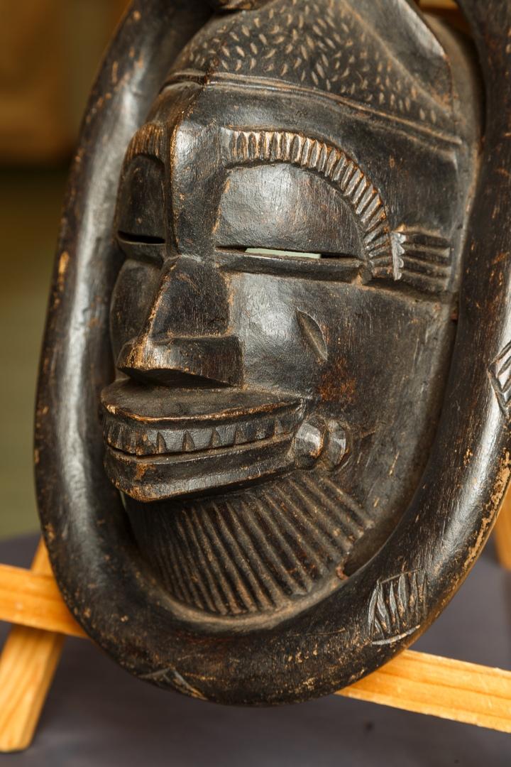 Африканская маска 03