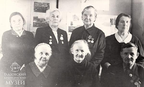 Активисты-общественники Глазовского музе