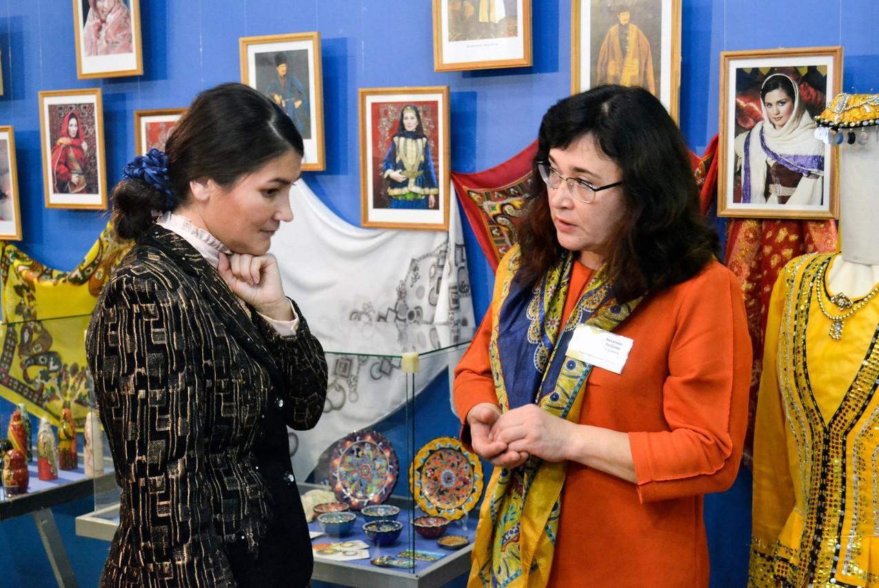 Открытие выставки Краски Азербайджана 03