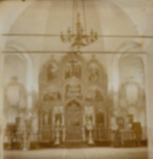 Церковь в Верх-Парзях. Начало ХХ века (Г