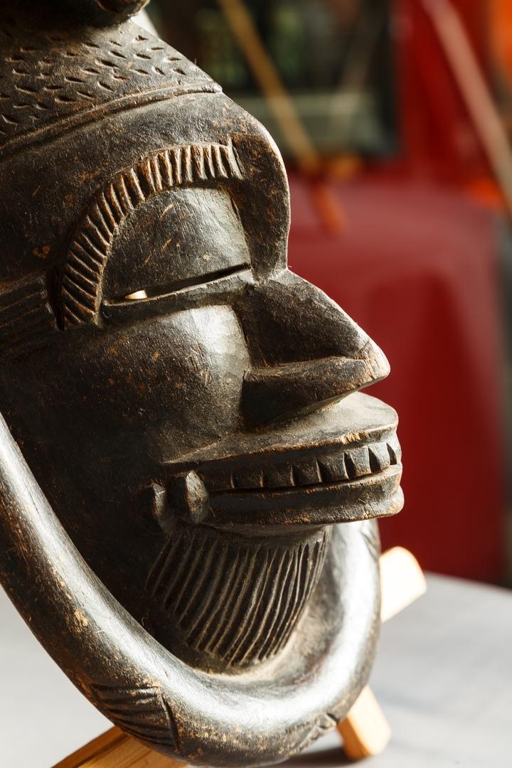 Африканская маска 01
