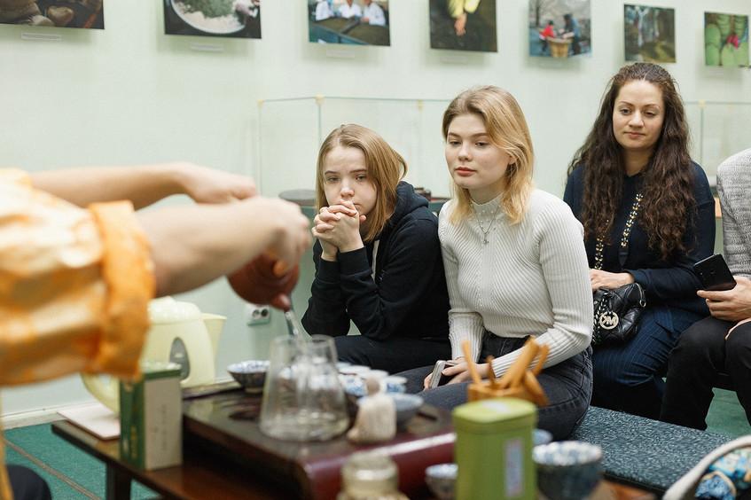 Открытие выставки «Чай, любовь и мир» 10