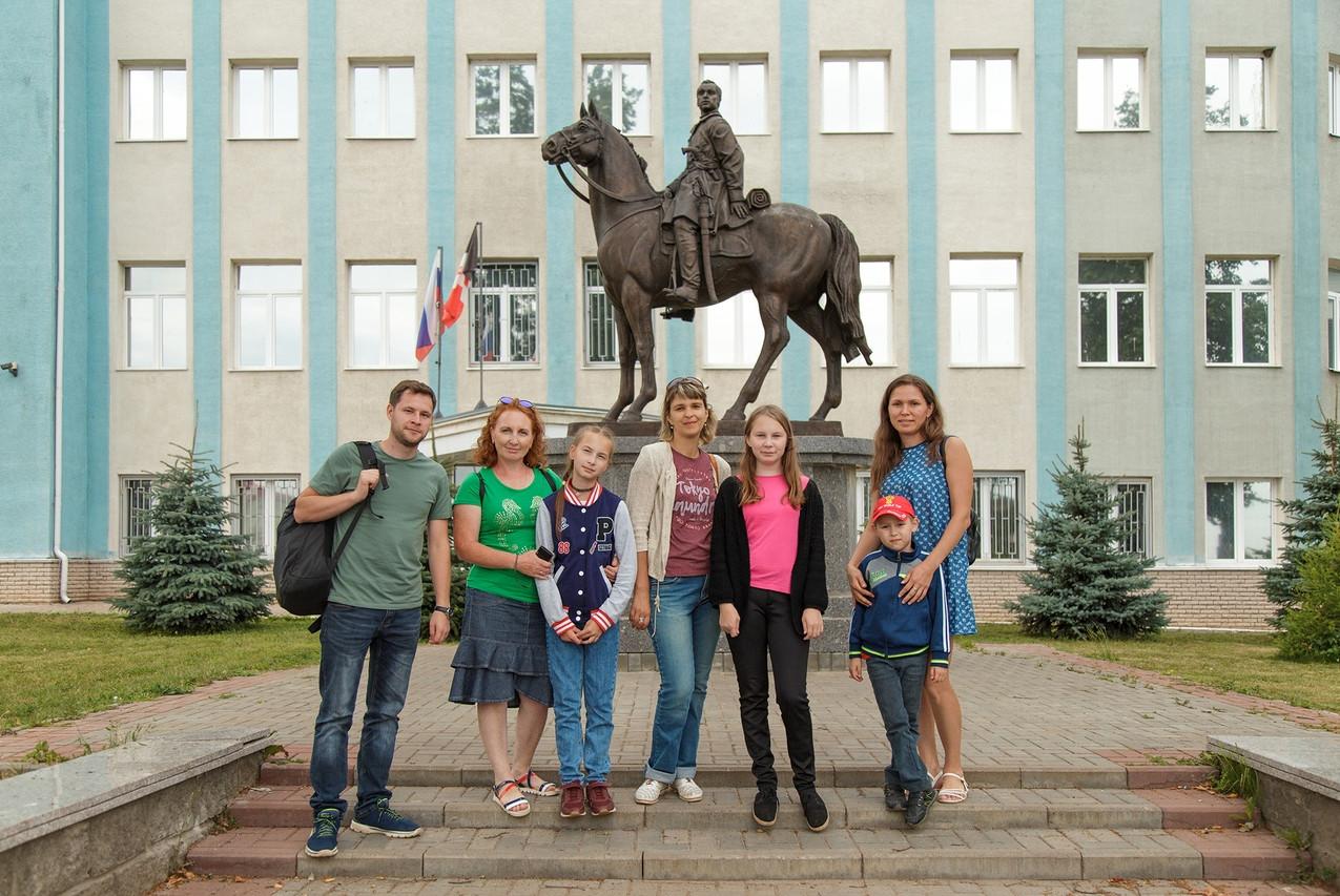 Сотрудники музея в Сарапуле 14