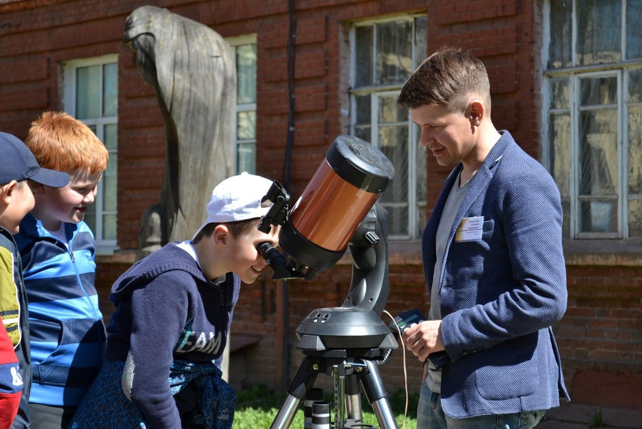 Астрономия на тротуаре 02