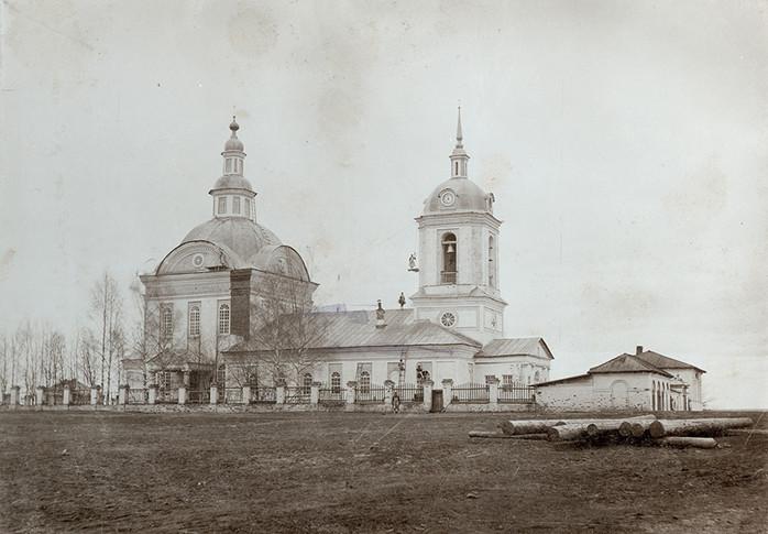 Троицкая церковь с. Елово. Фото нач. ХХ
