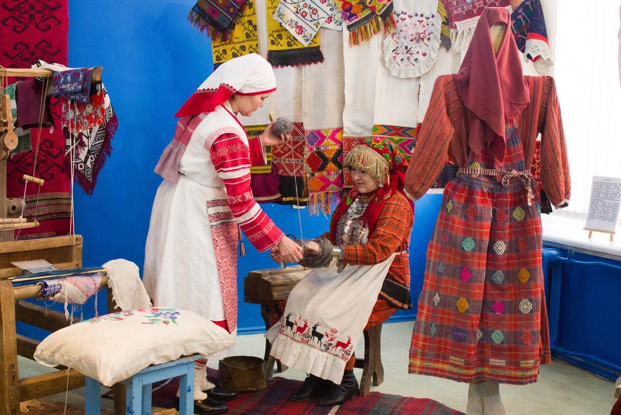 Открытие выставки Женский угол. Кышнопал