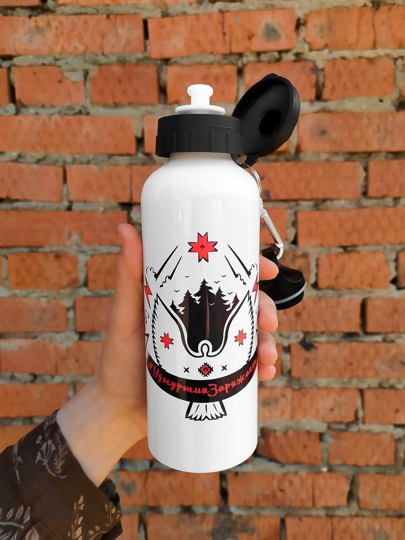 Удмуртская спортивная бутылка 03