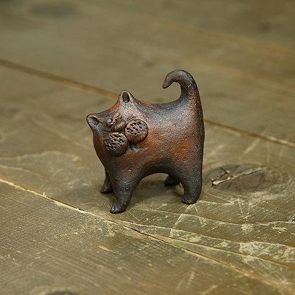 Кот керамический