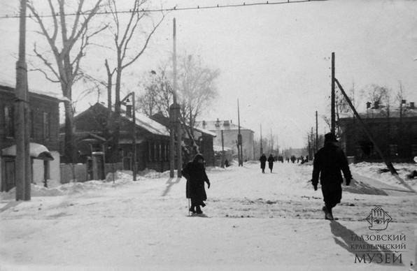 03. Город Глазов в 1948-1952 годы. Фото