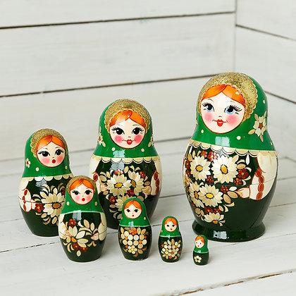 Сувенирная матрёшка 7-и кукольная