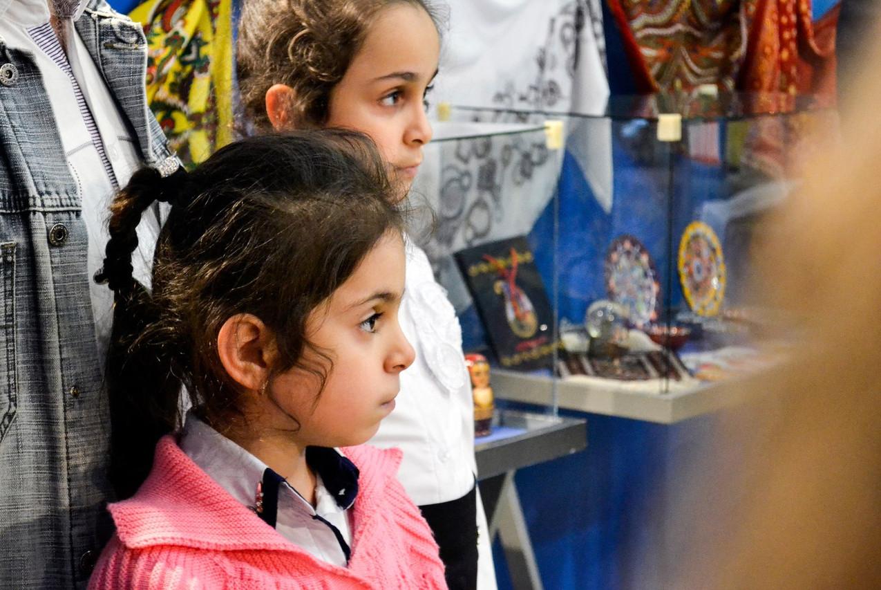 Открытие выставки Краски Азербайджана 05