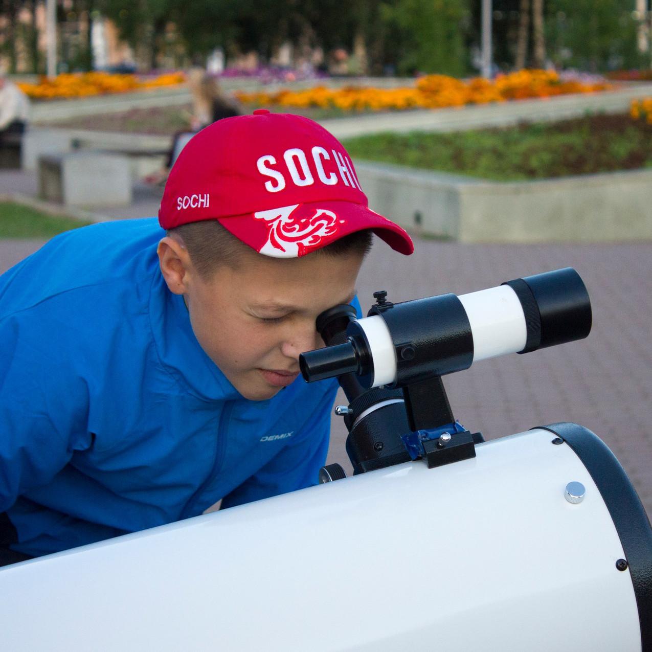 Астрономия на тротуаре