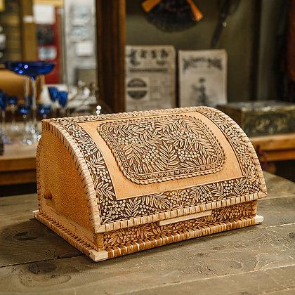 Хлебница из бересты