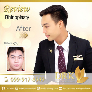 Look smart, smooth nose with Dr. Keaw at DRK.