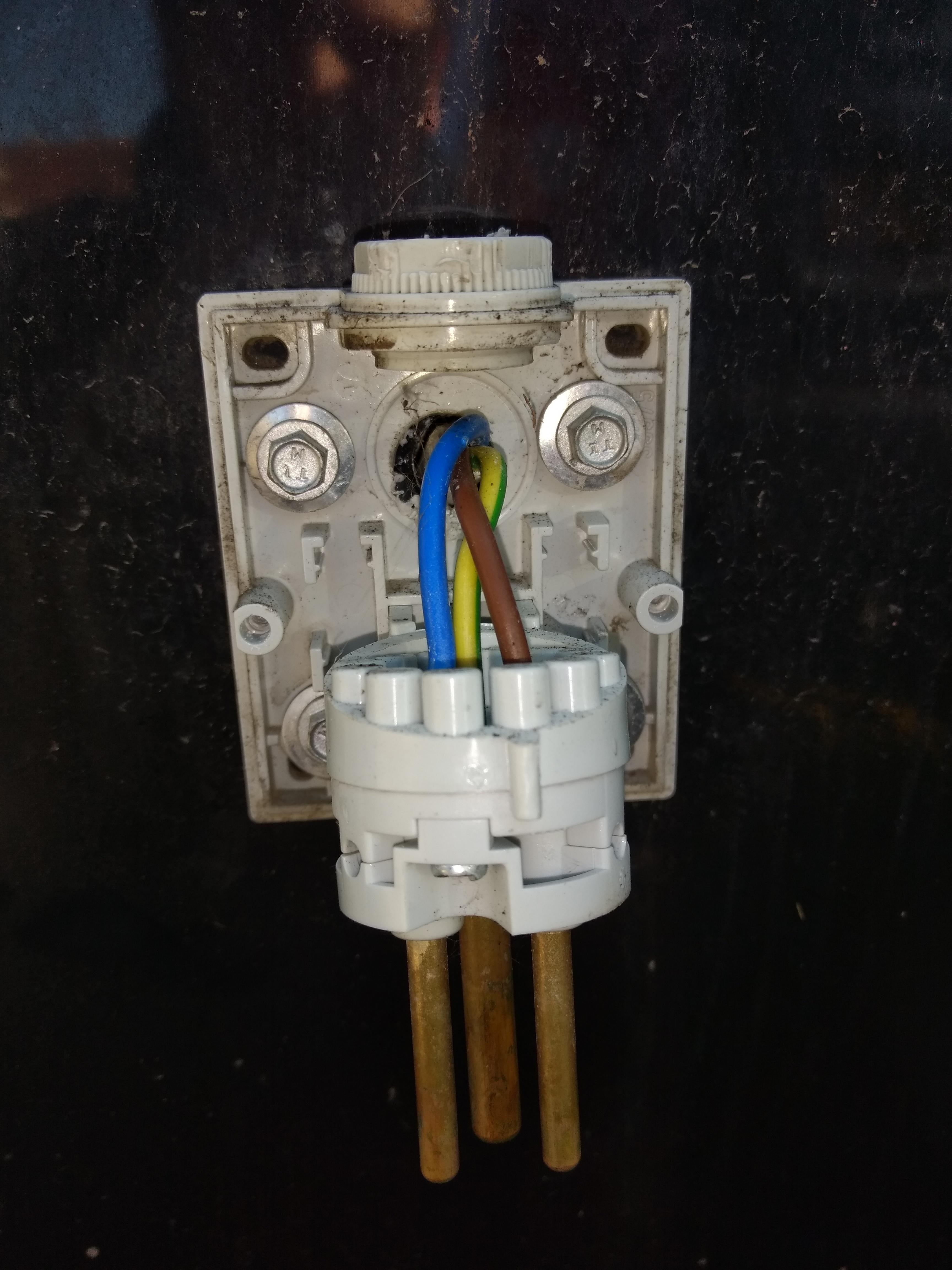 External power inlet replacement