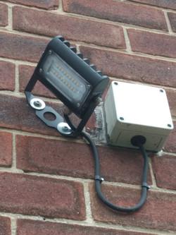 External Security LED light
