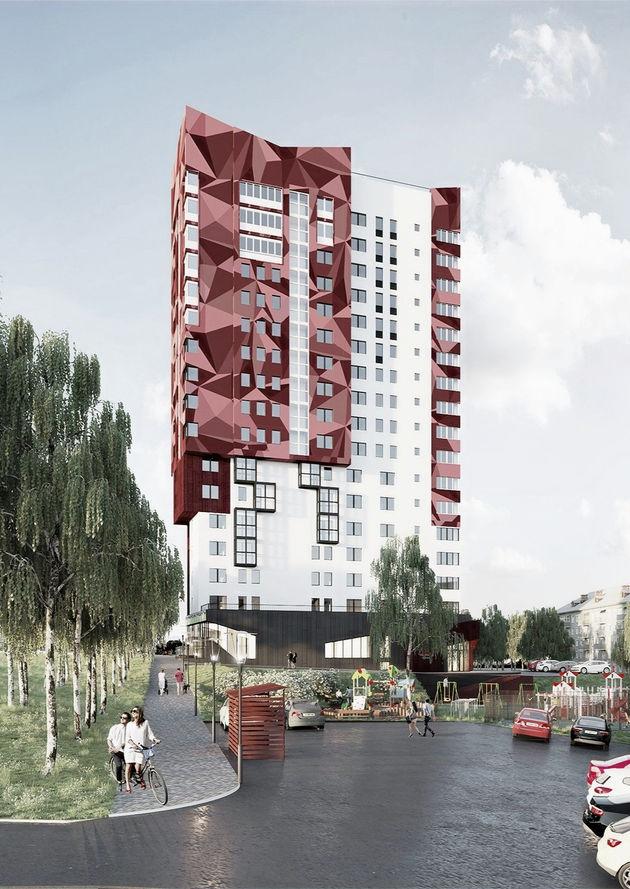 """Многоквартирный 16-ти этажный жилой дом """"Малина"""""""