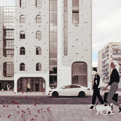 Здание апартаментного (гостиничного) типа