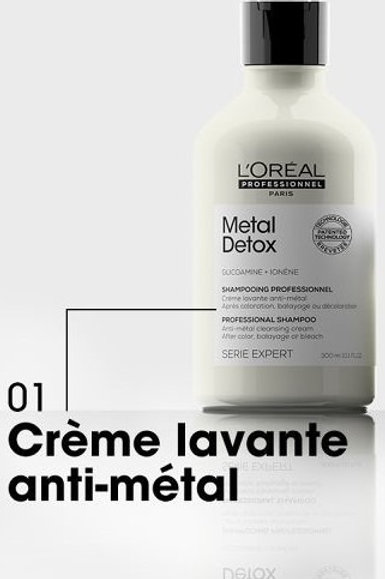 shampooing metal detox