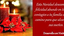 ¡Feliz Navidad! Les desea Desarrollo con Visión Social I. A. P.