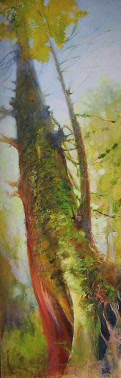 Autoportrait en forme d'arbre - Tableau