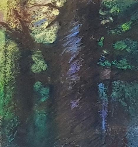 L arbre en majesté - tableau