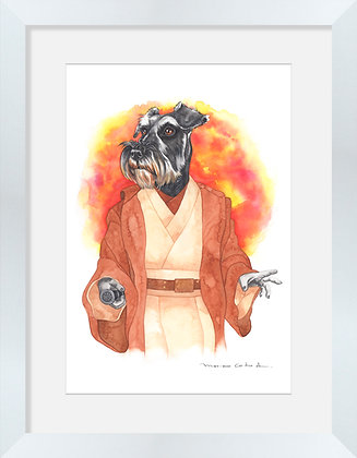 Schnauzer Obi Wan Kenobi