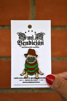 Pug Freddy Krueger