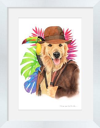 Golden Indiana Jones