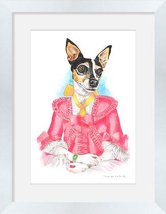 Fox Terrier María Antonieta