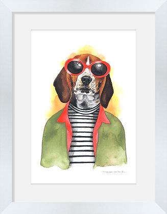 Beagle Kurt Cobain