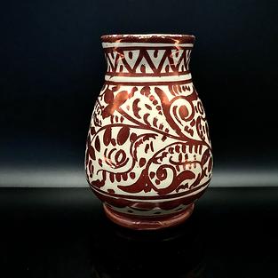 SPAIN - Hispano Moresque Manises small vase