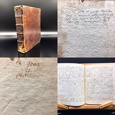 1693 -1694  Theological Latin Manuscript