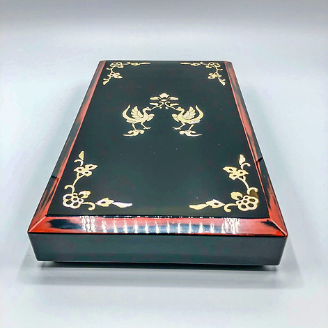 Lacquer Box with Mother of pearl