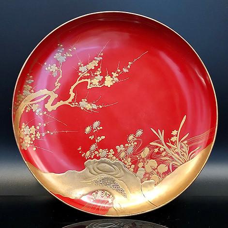 Meiji Era Plate (6)