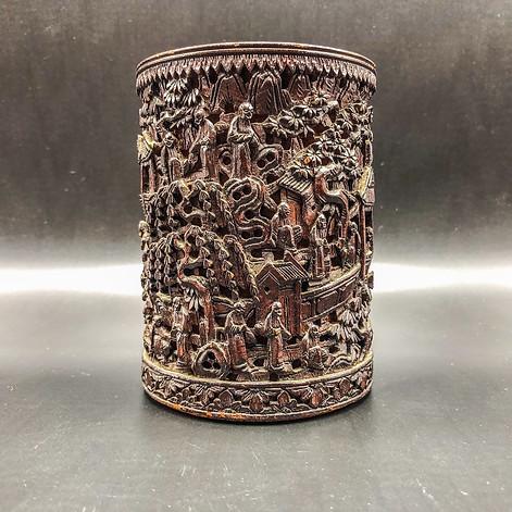 Carved Brush Pot