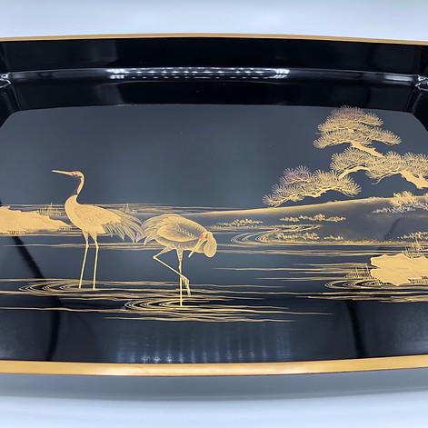 Large Meiji Era tray