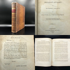 1792. Hutton James. Dissertations on Different Subjects in Natural Philosophy.