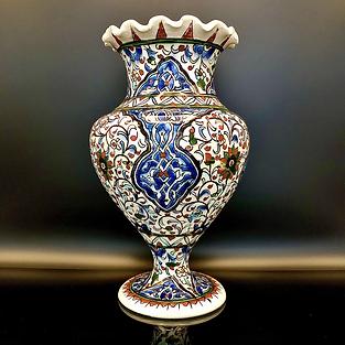 PERSIA - Iznik style vase