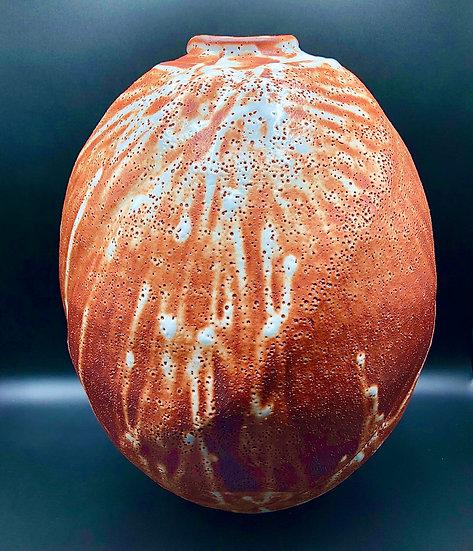 Ito Koyo Large Japanese Shino Yaki Vase