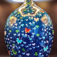 Shoun Fujii Extra Large Arita Vase