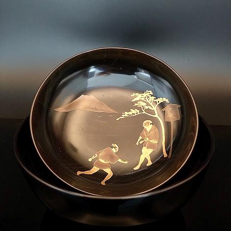Edo Period Wajima Lacquer Bowl