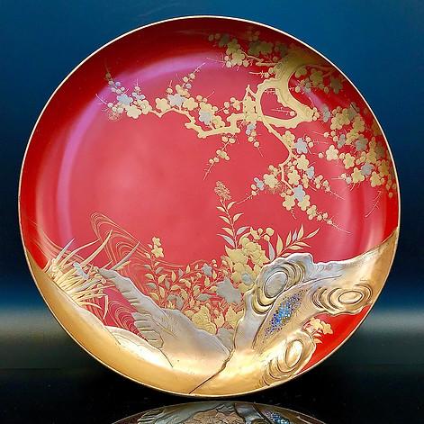 Meiji Era Plate (5)