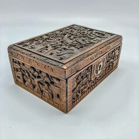 Qing Dynasty Carved Box