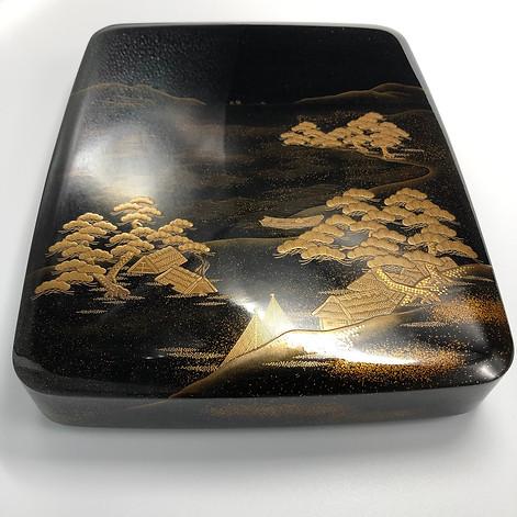 A Wajima writing box - suzuribako